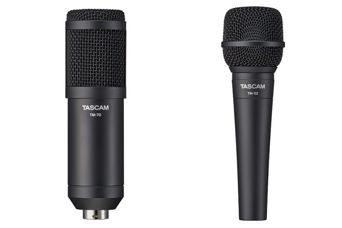 Tascam Introduce Two New Vocal Microphones – TM-70 & TM-82