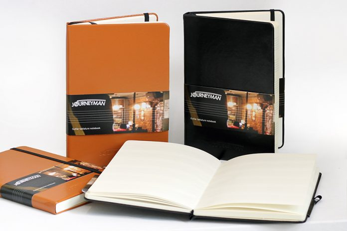 Journeyman launch range of musicians notebooks