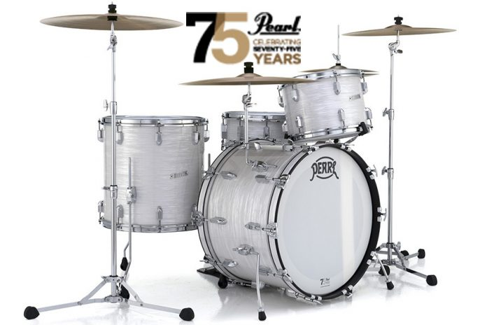 Pearl Celebrates 75 Years with Limited Edition President Series Phenolic drums