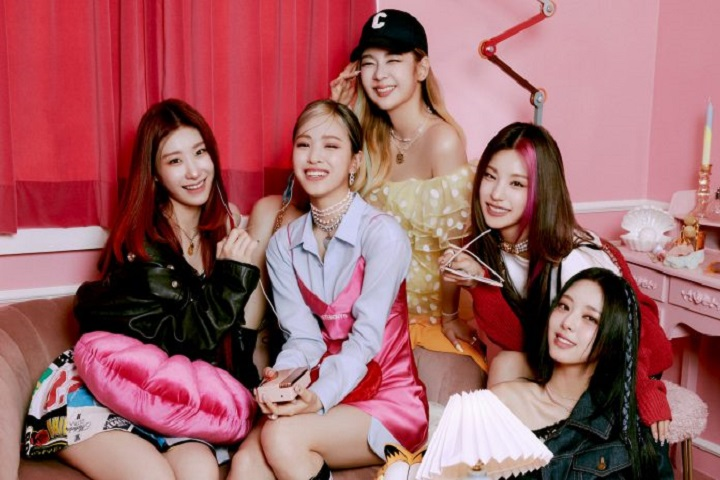 ITZY reveal they started working on 'Crazy In Love' while promoting 'Guess Who'