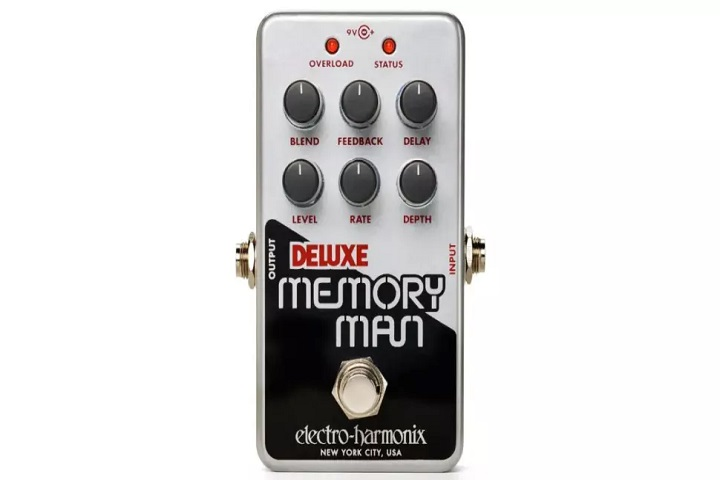 Electro-Harmonix revises a pedalboard classic as the Deluxe Memory Man gets the Nano treatment